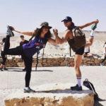 Mallory Schwartz in Israel