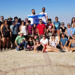 Ashley with her Birthright Israel group