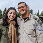 Meira Shleifer at Mount Herzl on her Birthright Israel trip in 2020