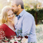 2014 Birthright Israel alumni Courtney Barnett & Shahria Sharifi's engagement portrait