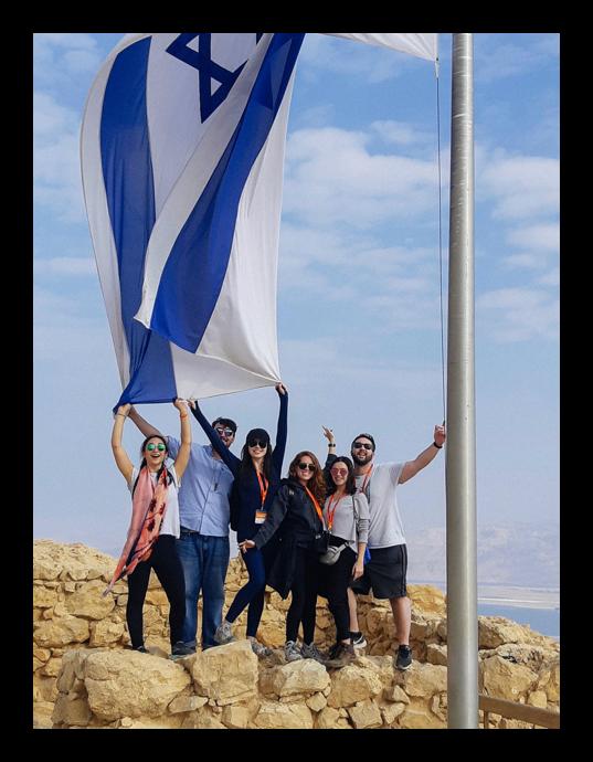 Sidebar Israeli Flag Image
